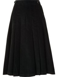 high-waisted pleated skirt Gabriela Hearst