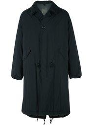 объемное стеганое пальто Yohji Yamamoto