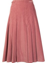 high-waisted pleated skirt Gabriela Hearst