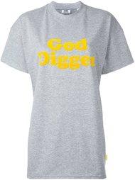 футболка с аппликацией 'God Digger' Gcds