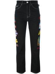 джинсы с завышенной талией Gcds
