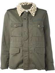 куртка с декорированным воротником Tu Es Mon Tresor