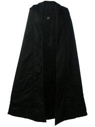 длинное пальто-накидка Julius
