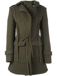 пальто на молнии Alexander McQueen