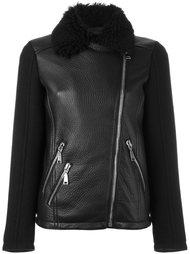 байкерская куртка с отделкой на воротнике Drome