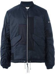 куртка-бомбер с панельным дизайном Oamc