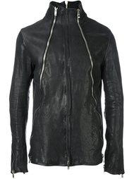 кожаная куртка на молнии Incarnation