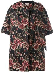 пальто с цветочным принтом Antonio Marras