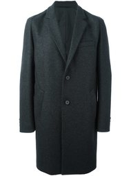 классическое однобортное пальто Wooyoungmi