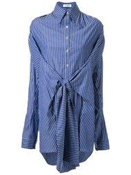 рубашка с узлом в полоску Fad Three