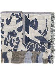 шарф с цветочным принтом Dondup