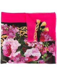 шарф с цветочным рисунком Dolce & Gabbana