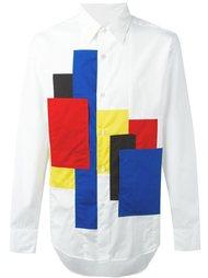 рубашка с нашивками Ganryu Comme Des Garcons