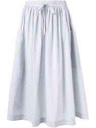 юбка миди в полоску Megan Park