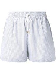 шорты в полоску Megan Park