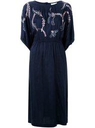 платье с цветочной вышивкой  Megan Park