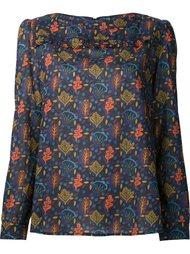 блузка с растительным принтом A.P.C.