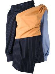 асимметричное платье с длинными рукавами Jacquemus