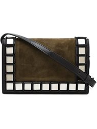 mirrored square trim shoulder bag Tomasini