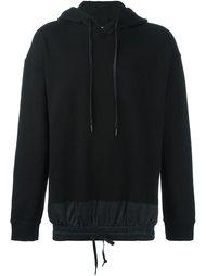 drawstring hem hoodie D.Gnak