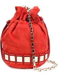 mirrored drawstring crossbody bag Tomasini