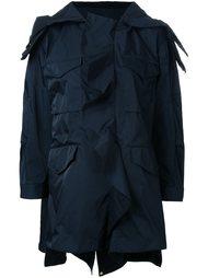 пальто с карманами с клапанами Muveil