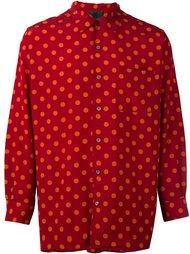 рубашка в горох Jean Paul Gaultier Vintage