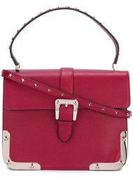 сумка-сэтчел с заклепками Red Valentino