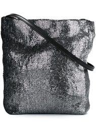 сумка через плечо с отделкой металлик Ann Demeulemeester