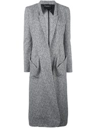 однобортное пальто Erika Cavallini