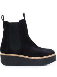 'Deltona' platform ankle boots Flamingo's