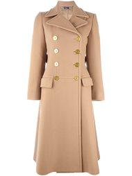 двубортное пальто  Alexander McQueen