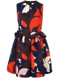 платье с присборенной талией Delpozo