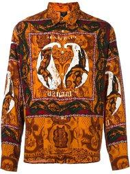 рубашка с узором Jean Paul Gaultier Vintage