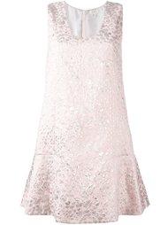 платье с рубашечным воротником Delpozo