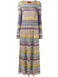 вязаное платье с узором  Missoni