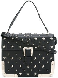 сумка-сэтчел с заклепками в виде звезд Red Valentino