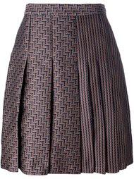 плиссированная юбка с высокой талией Diane Von Furstenberg