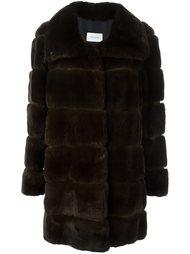 меховой пальто  Yves Salomon