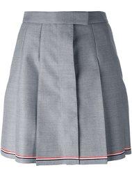 плиссированная юбка А-образного кроя   Thom Browne