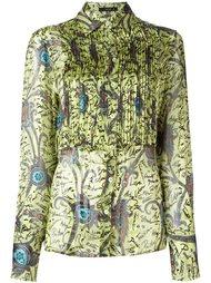 рубашка с плиссировкой  Etro
