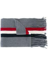 шарф колор-блок  Moncler