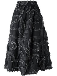 юбка с аппликацией  Si Jay