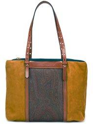 сумка на плечо дизайна колор-блок Etro