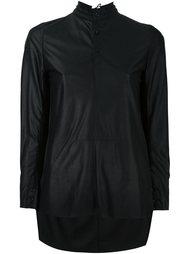 рубашка с асимметричным подолом A Tentative Atelier