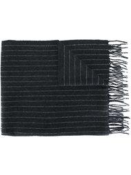 трикотажный шарф в полоску Polo Ralph Lauren