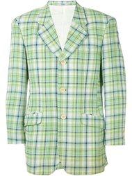пиджак в клетку Kenzo Vintage