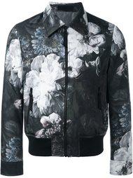 куртка с цветочным принтом   Alexander McQueen