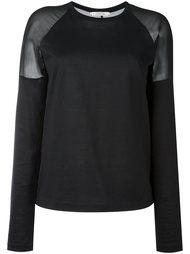 свитер с прозрачными вставками Dorothee Schumacher