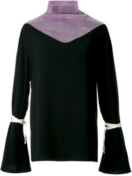 блузка с расклешенными рукавами N Duo